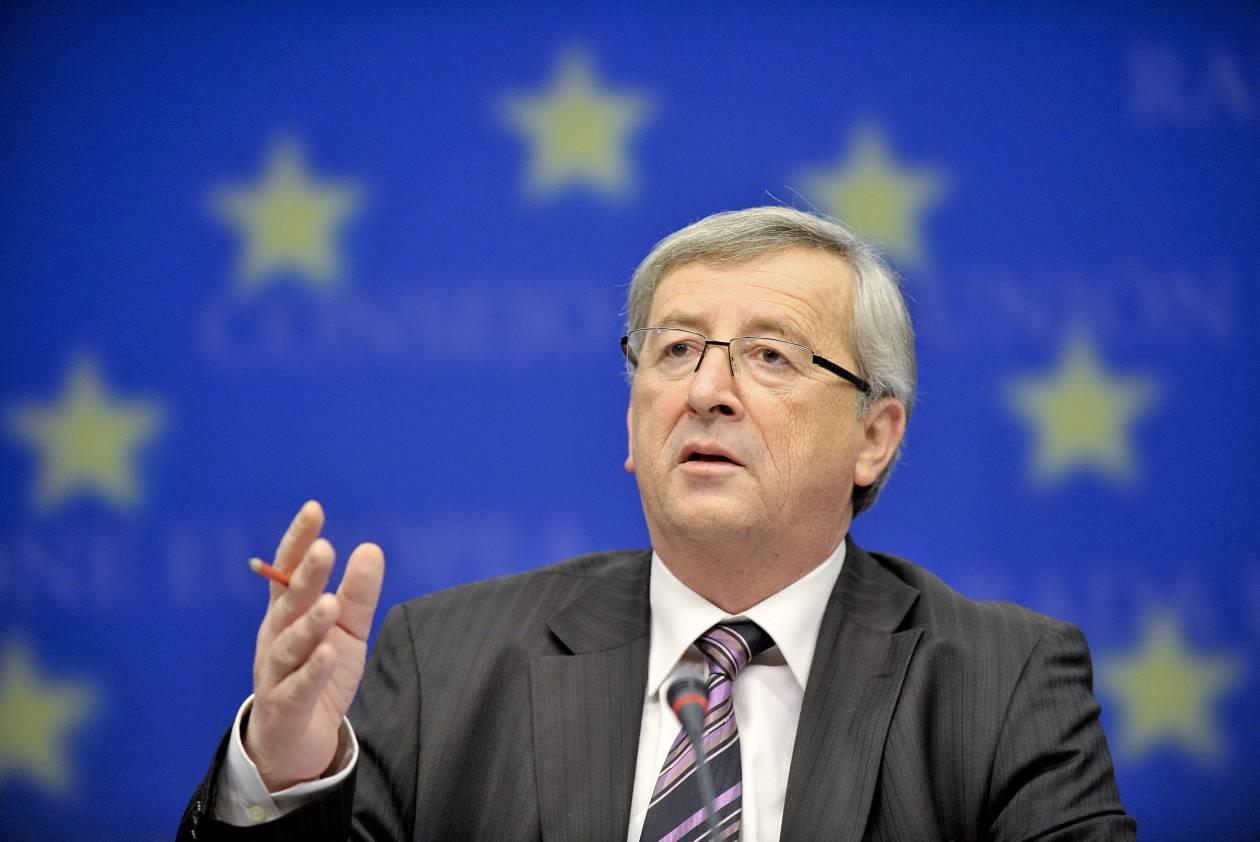 Γιούνκερ: Αποκλείει το ενδεχόμενο διαγραφής του κυπριακού χρέους