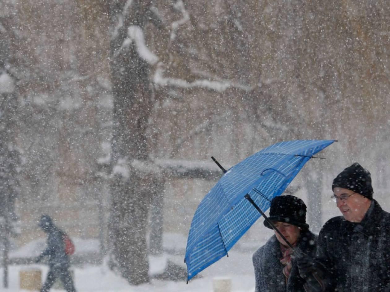 Χαλάει κι άλλο ο καιρός – Δείτε πού θα χιονίσει το Σάββατο
