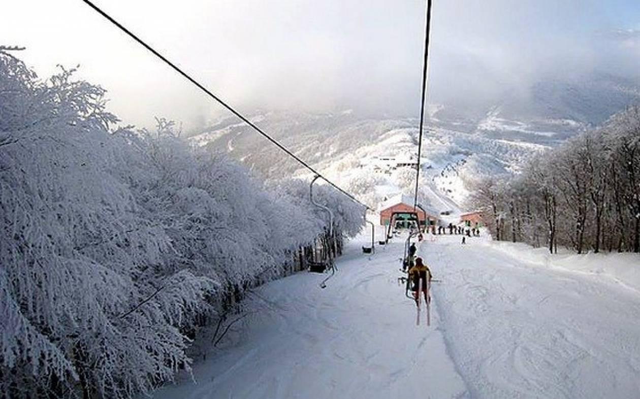 Τρίπολη: Ανοίγει το χιονοδρομικό κέντρο Μαινάλου