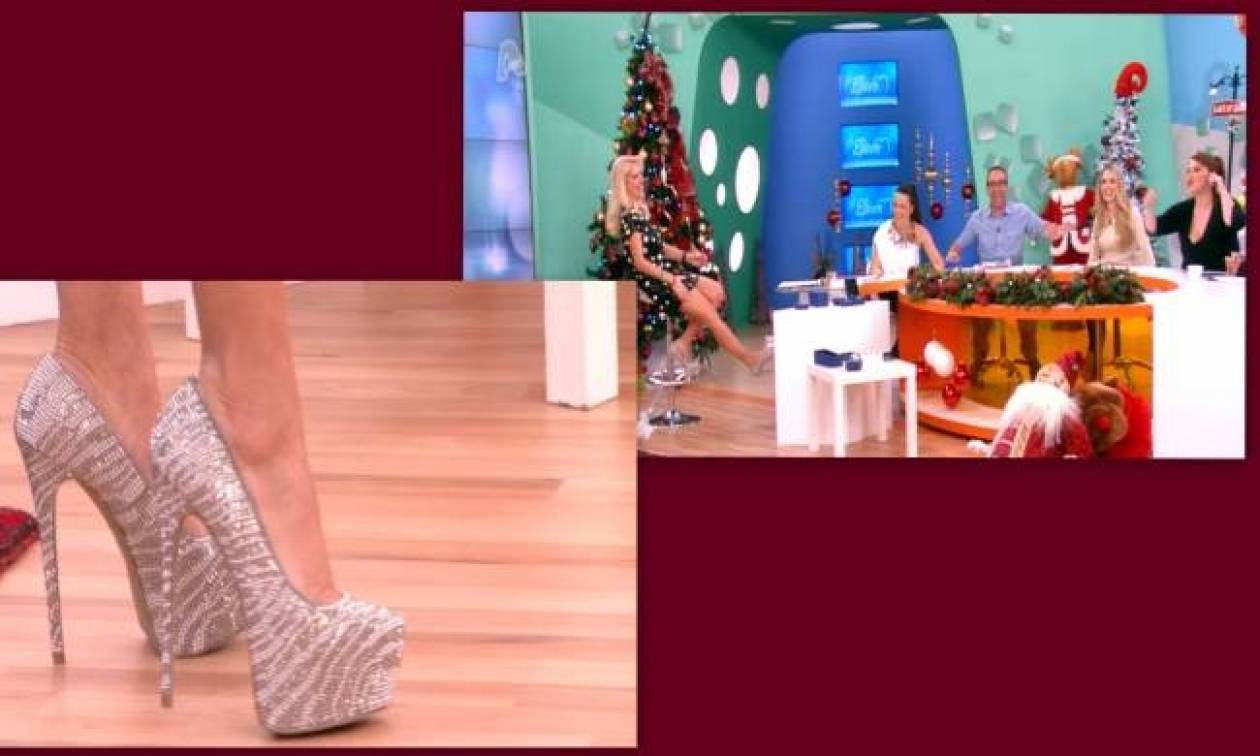 Ελένη Μενεγάκη: Προσπαθεί να ισορροπήσει πάνω σε 15 πόντους...