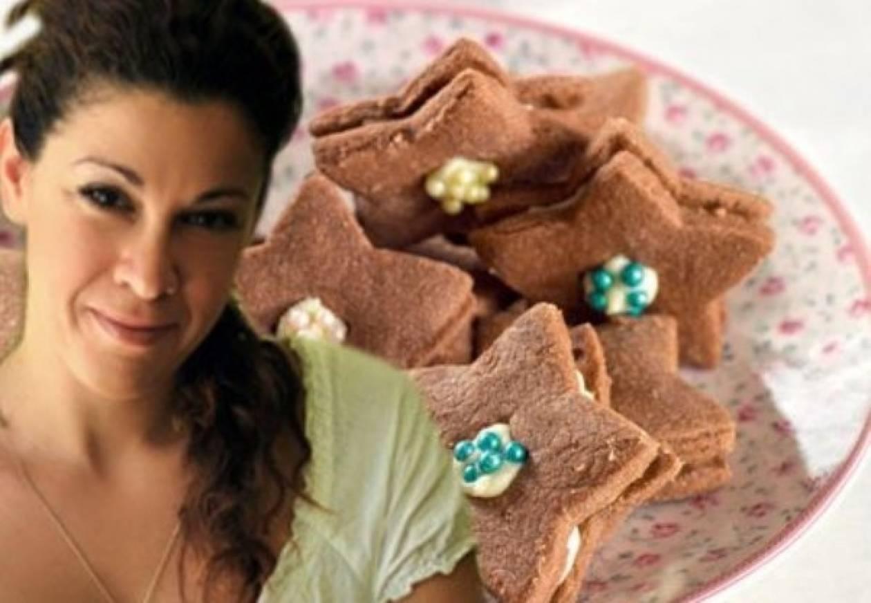 Χριστουγεννιάτικα μπισκότα από την Εβίτα Παπαχαραλάμπους