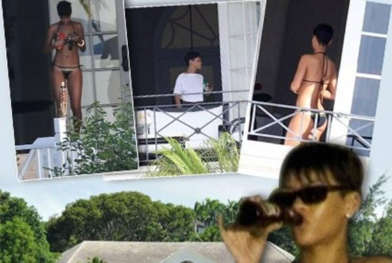 Rihanna: ξεπερνάει το χωρισμό της πίνοντας και κάνοντας διακοπές