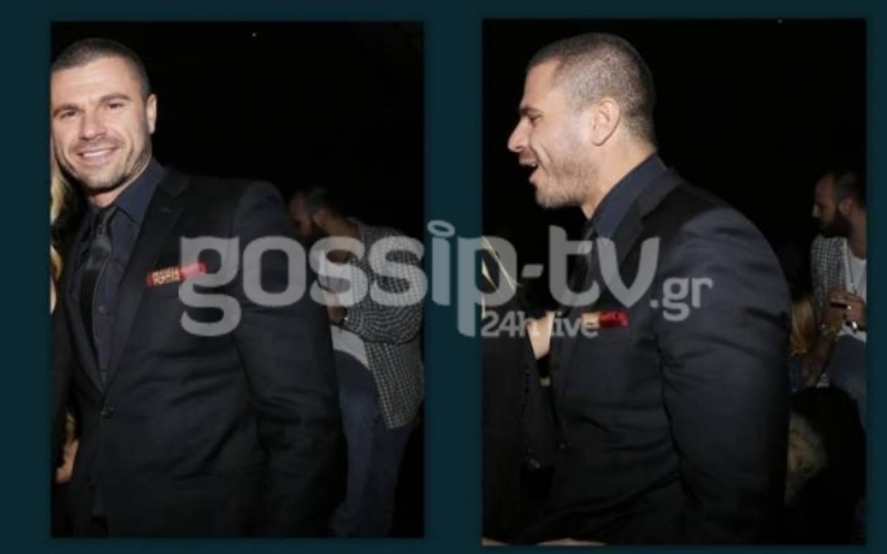 Χρ. Βασιλόπουλος: Μετά την αίτηση διαζυγίου τα «έσπασε» στα μπουζούκια