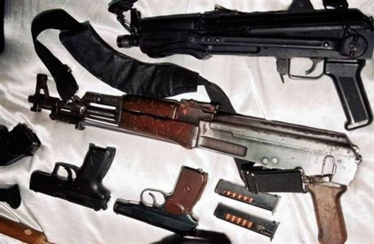 70.000 παράνομα όπλα στην Αττική