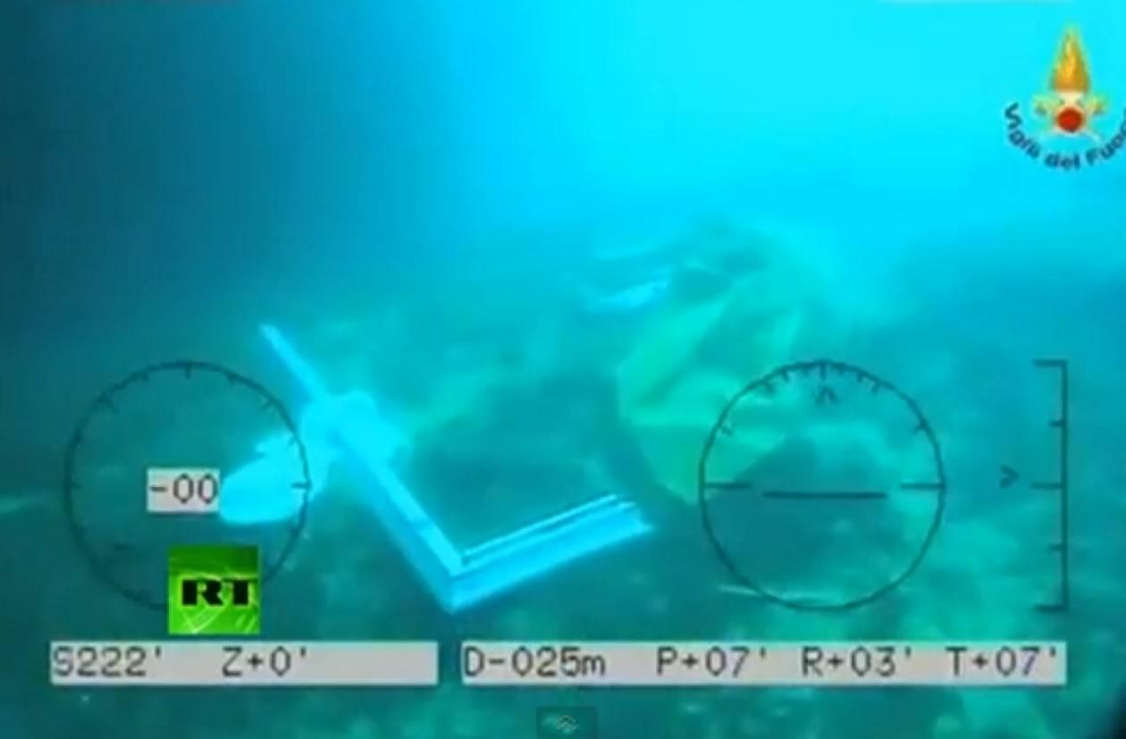 Βίντεο: Τo Costa Concordia στο βυθό