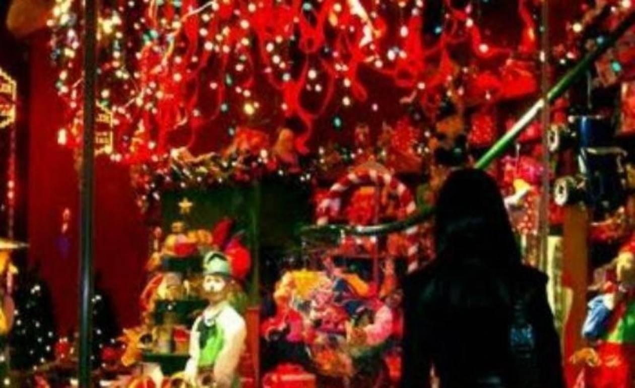 Το εορταστικό ωράριο των καταστημάτων έως την Πρωτοχρονιά