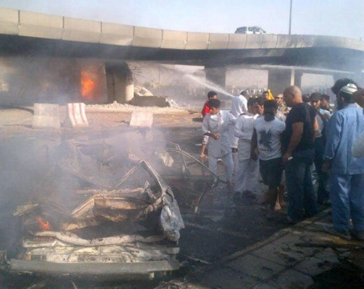 Στις φλόγες εργοστάσιο- Νεκροί έξι εργάτες