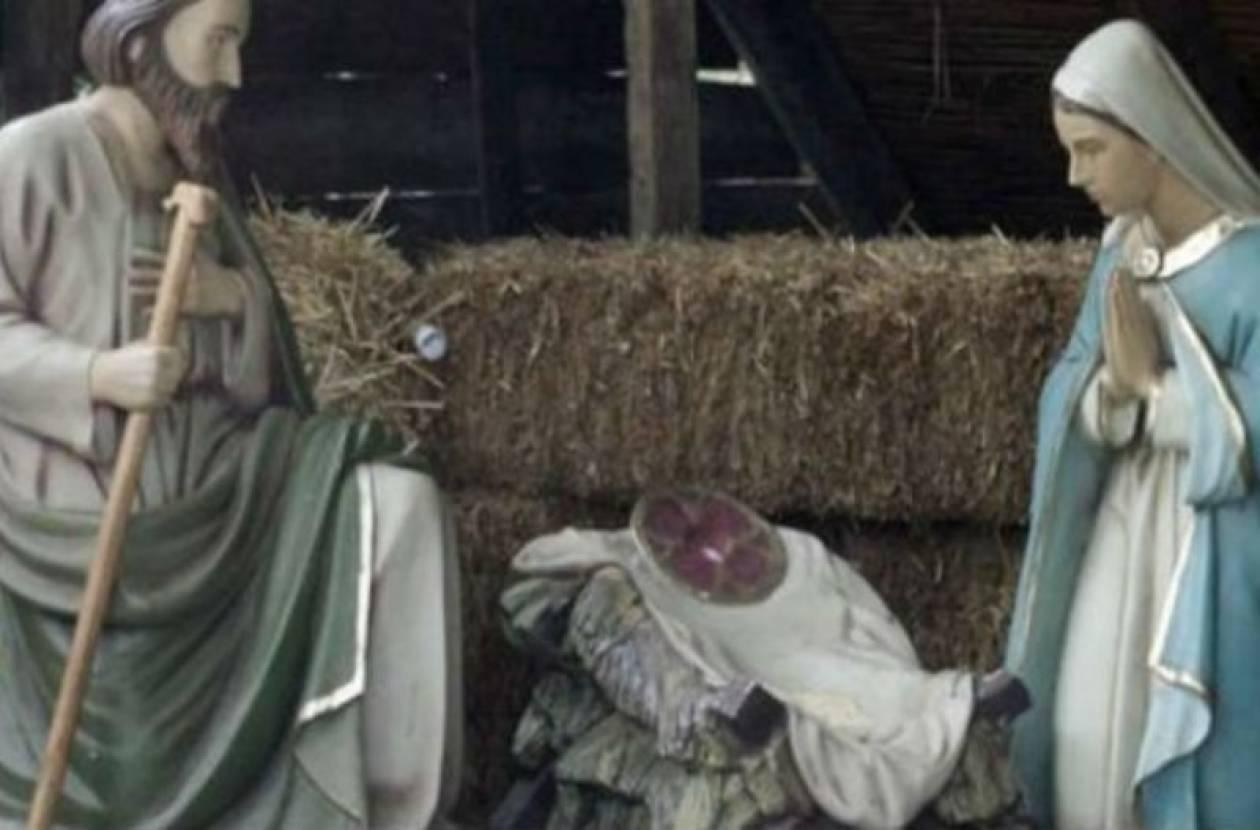 Έκλεψαν το «θείο βρέφος» στα Τρίκαλα