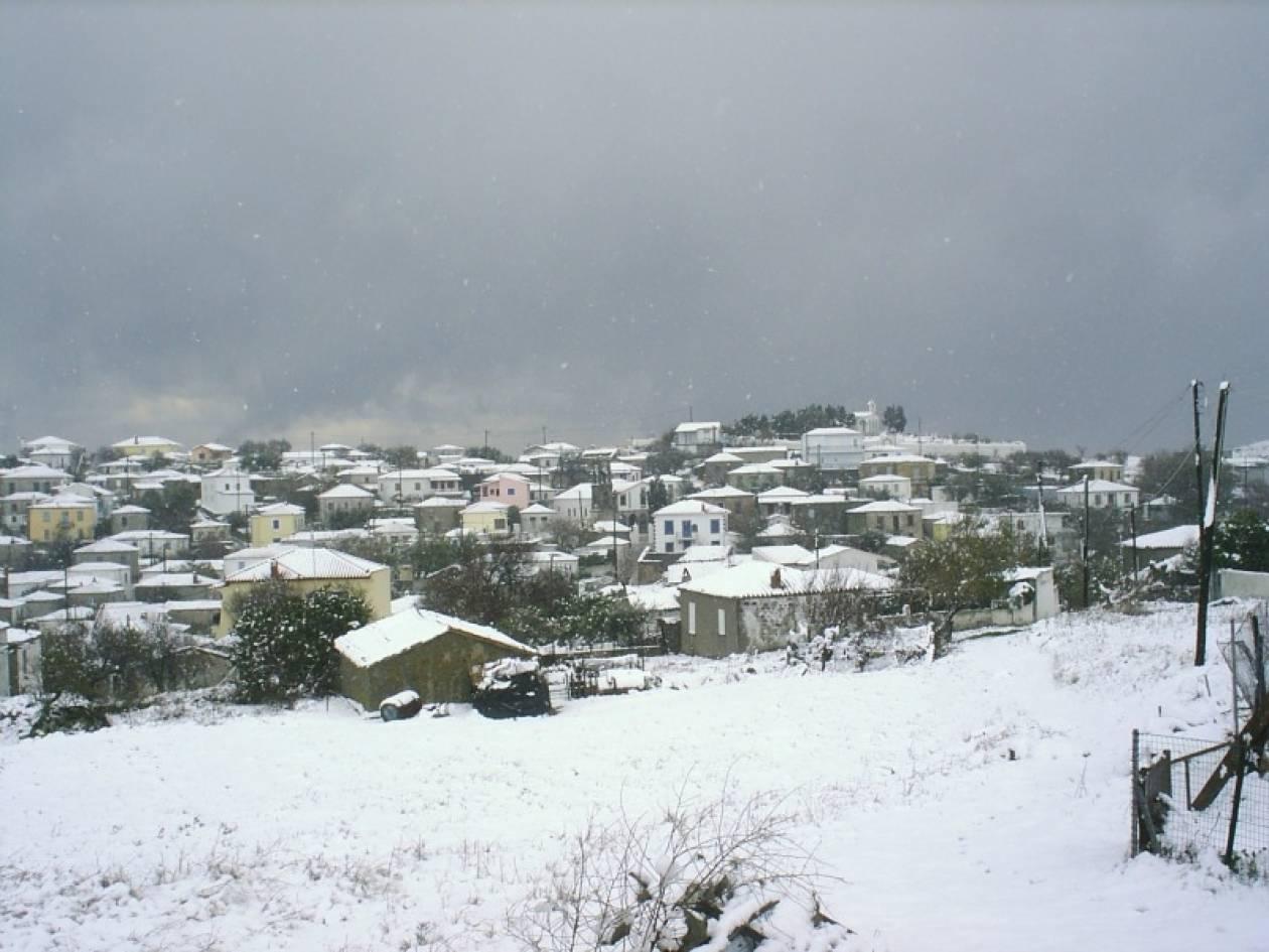 Δείτε πού θα χιονίσει την Κυριακή