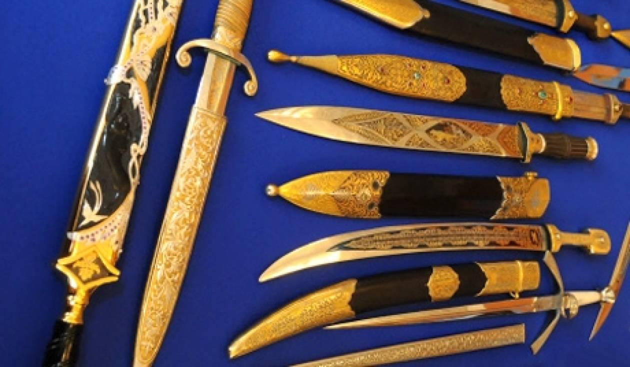 Η τέχνη των μαστόρων οπλοποιών