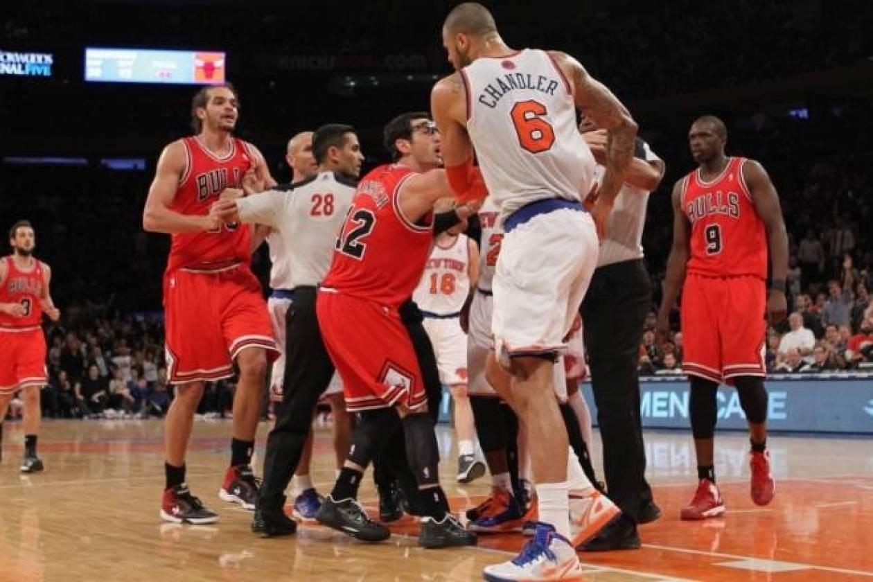 NBA: Έπεσε ξύλο στη Νέα Υόρκη (video)