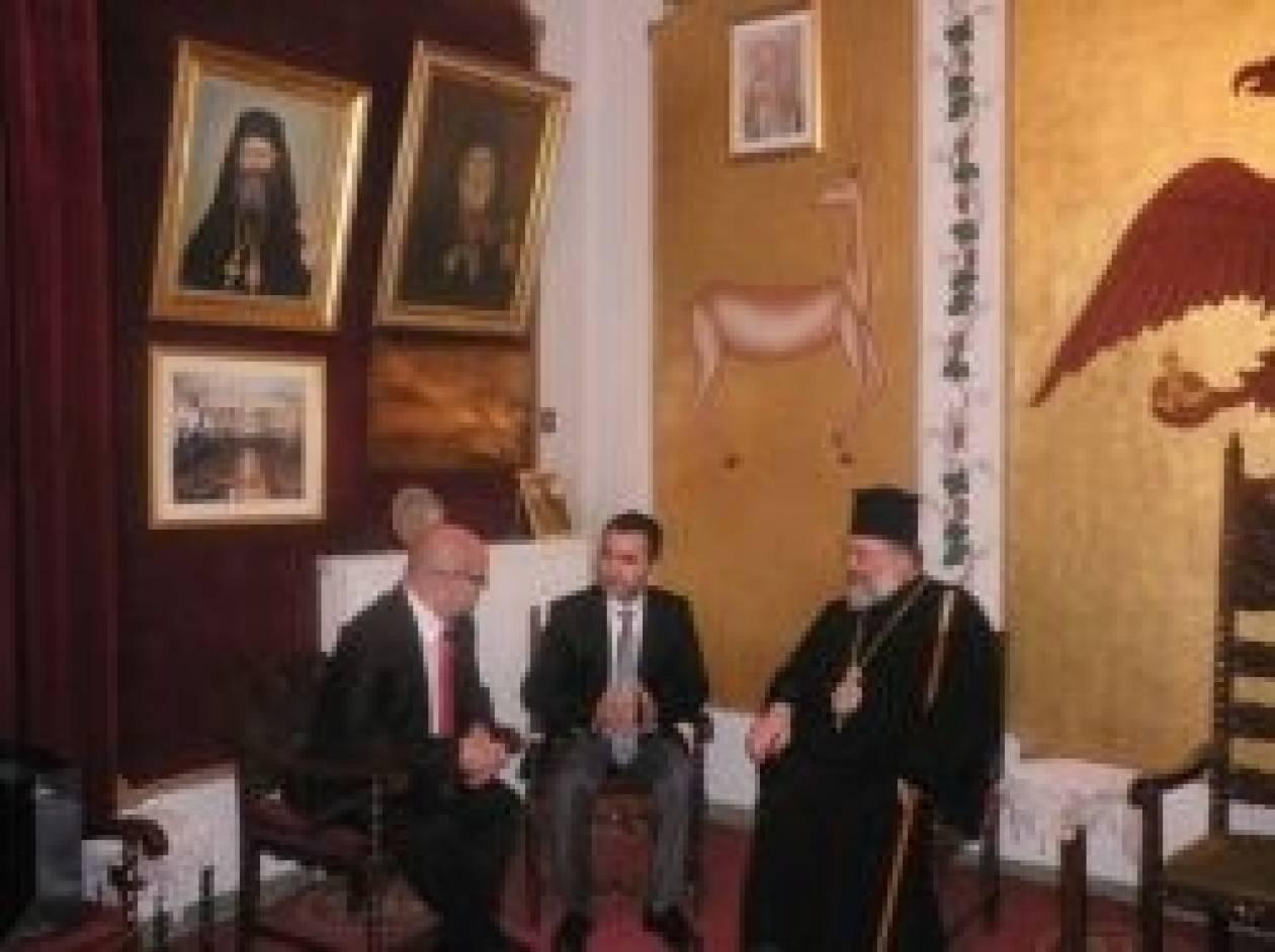 Συνάντηση Μητροπολίτη Διδυμοτείχου με Γεν.Πρόξενο της Τουρκίας