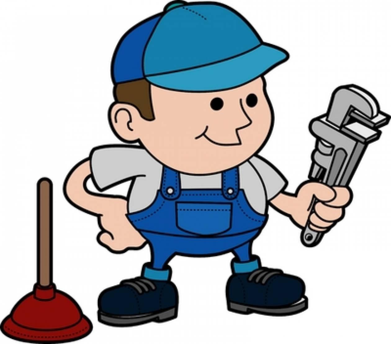 Ανέκδοτο: Ο υδραυλικός
