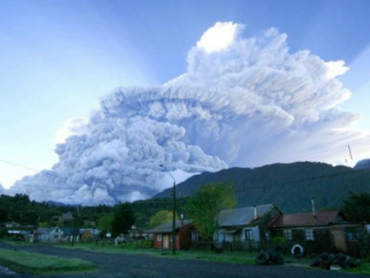 Συναγερμός σε Χιλή και Αργεντινή λόγω ηφαιστείου