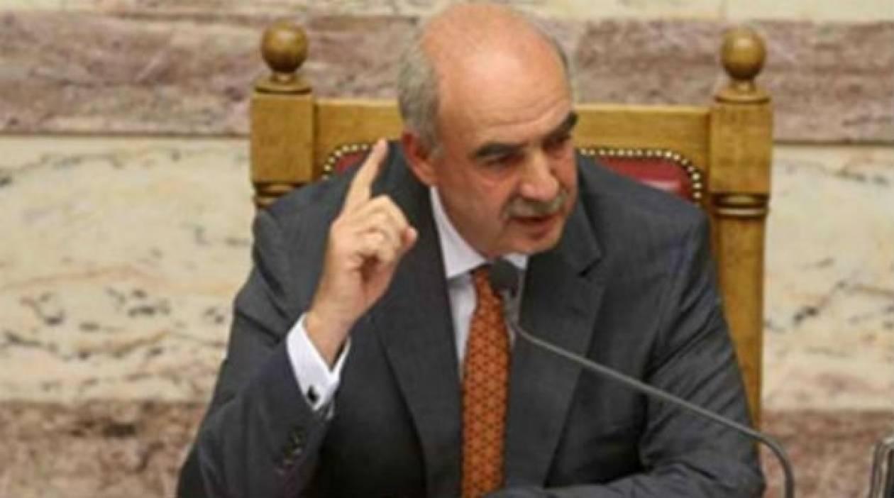 Μεϊμαράκης: Το 2013 θα έχουμε μια νέα πρόταση για το Σύνταγμα