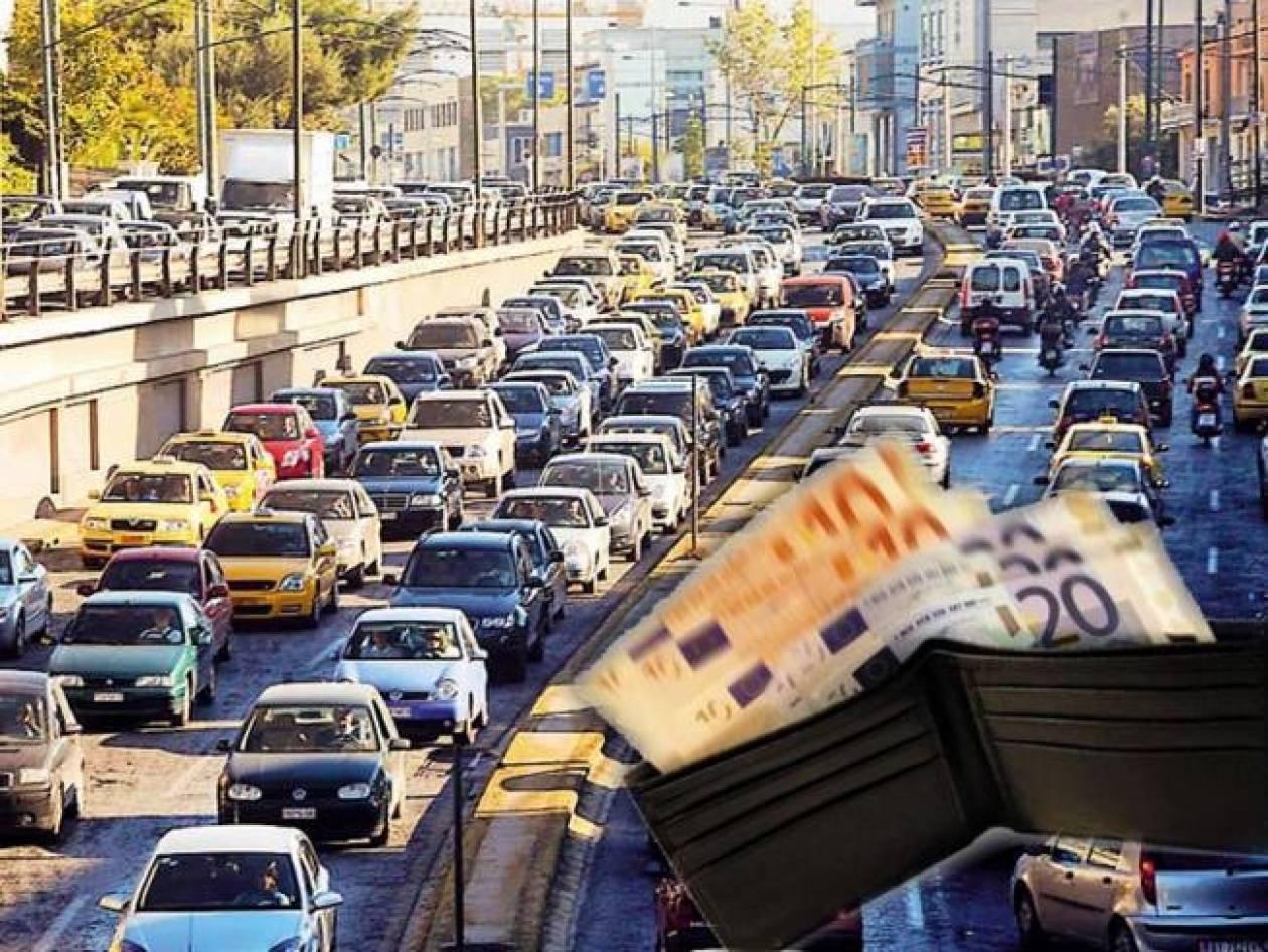 Καμία παράταση στην πληρωμή των τελών κυκλοφορίας