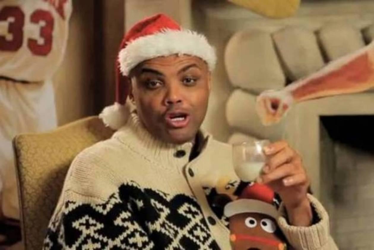 Τσαρλς Μπάρκλεϊ: Οι χριστουγεννιάτικες ευχές του (video)