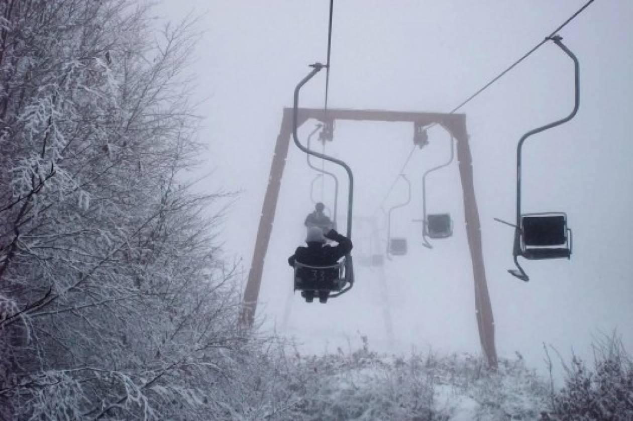 Άνοιξε το χιονοδρομικό κέντρο Πηλίου