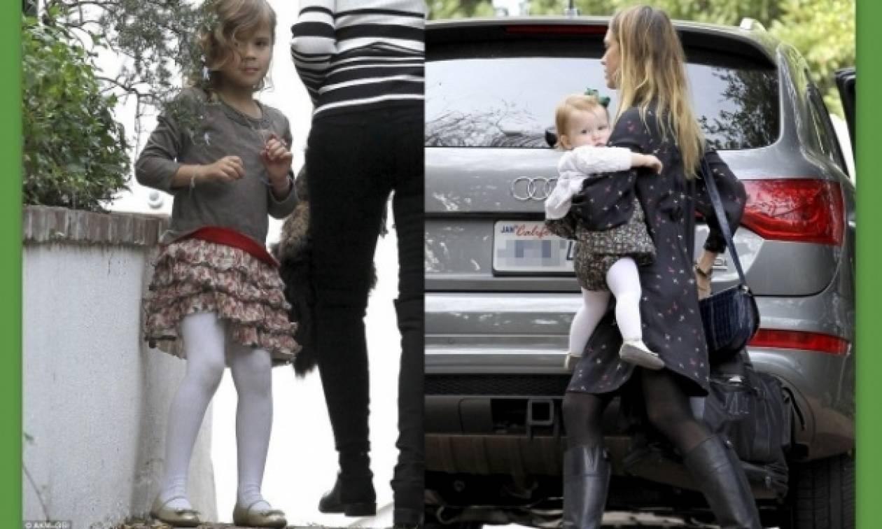 Οι κομψές κόρες της Jessica Alba!