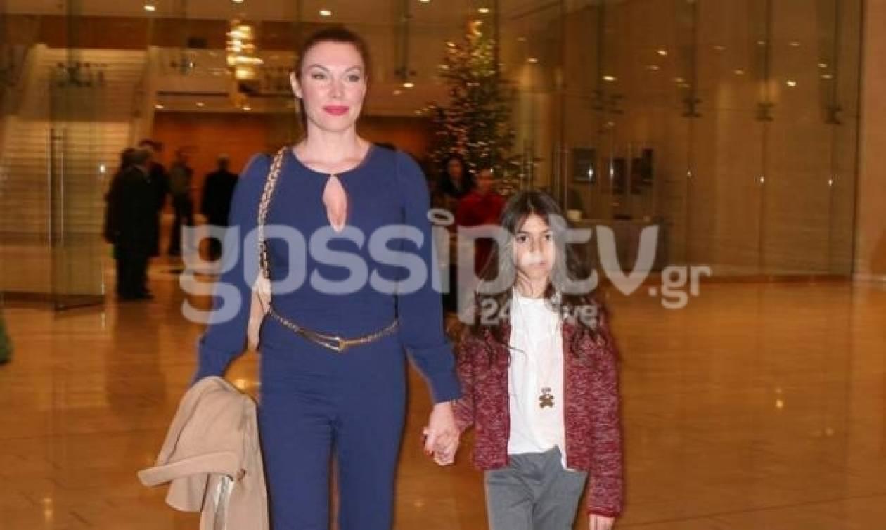 Τατιάνα Στεφανίδου: Έξοδος με την κόρη της!