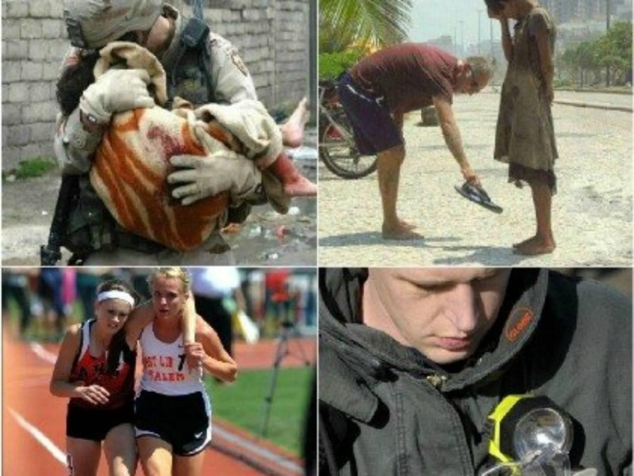 Oι πιο συγκινητικές φωτογραφίες του 2012