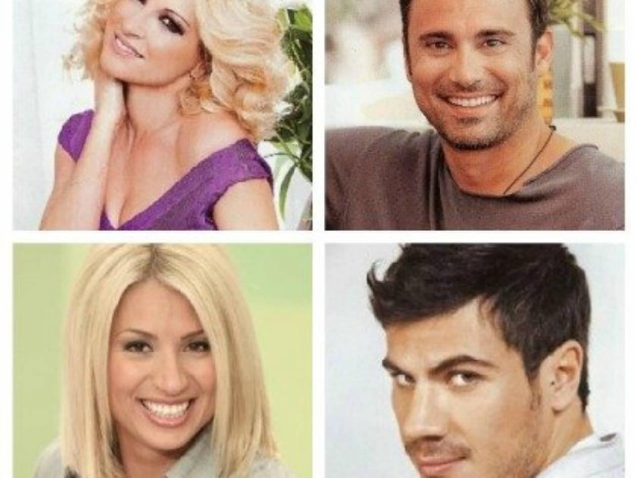 6 διάσημοι Έλληνες λένε με ποιον θα ήθελαν να περάσουν Χριστούγεννα