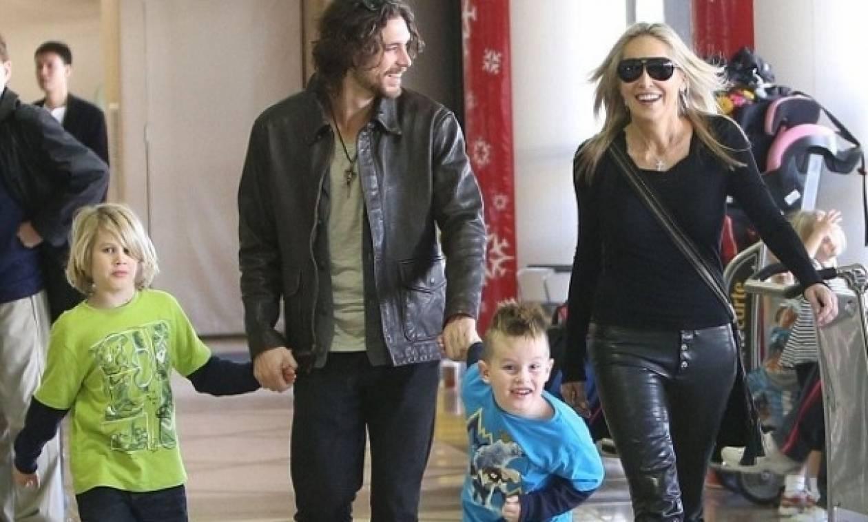 Sharon Stone: Χριστουγεννιάτικη εξόρμηση για την ηθοποιό