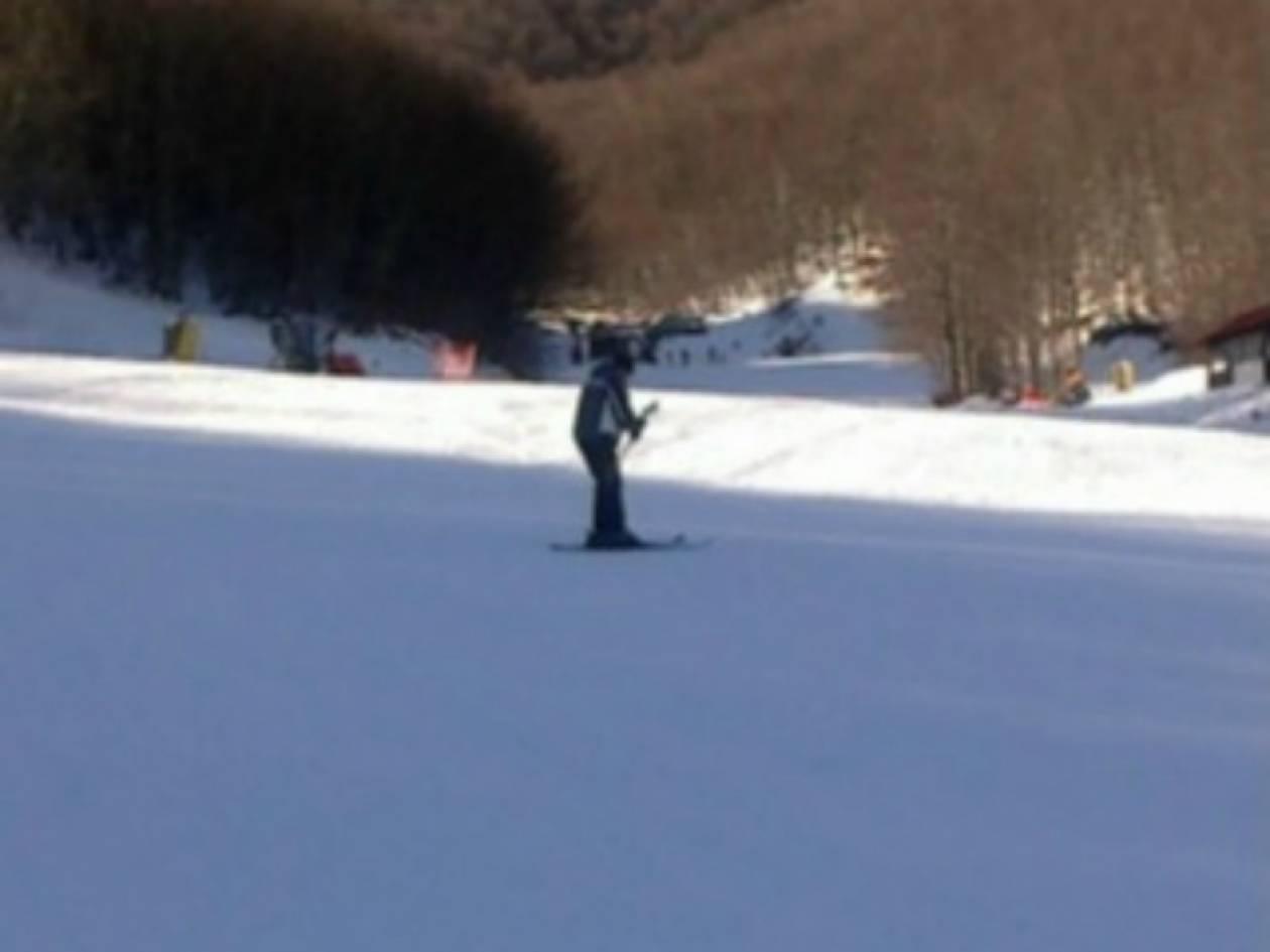 Άδειο το χιονοδρομικό στο Σέλι (pics)