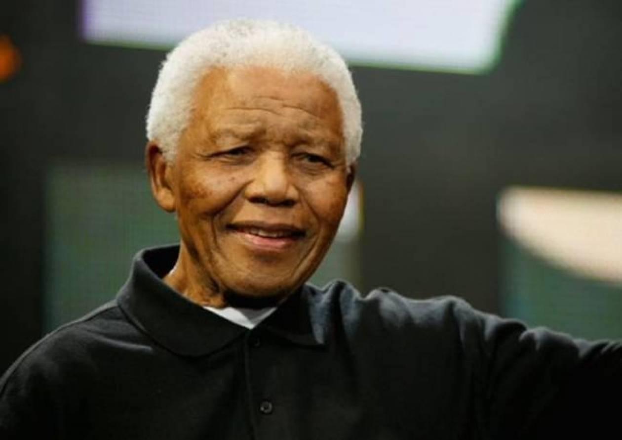 Βελτιώνεται η υγεία του Νέλσον Μαντέλα