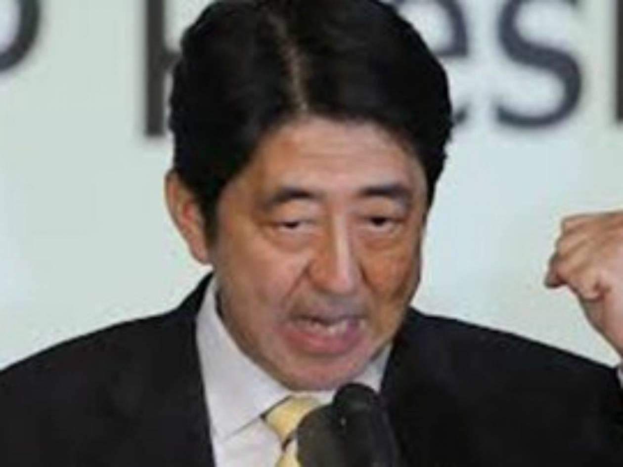 Ορκίζεται ο νέος πρωθυπουργός της Ιαπωνίας