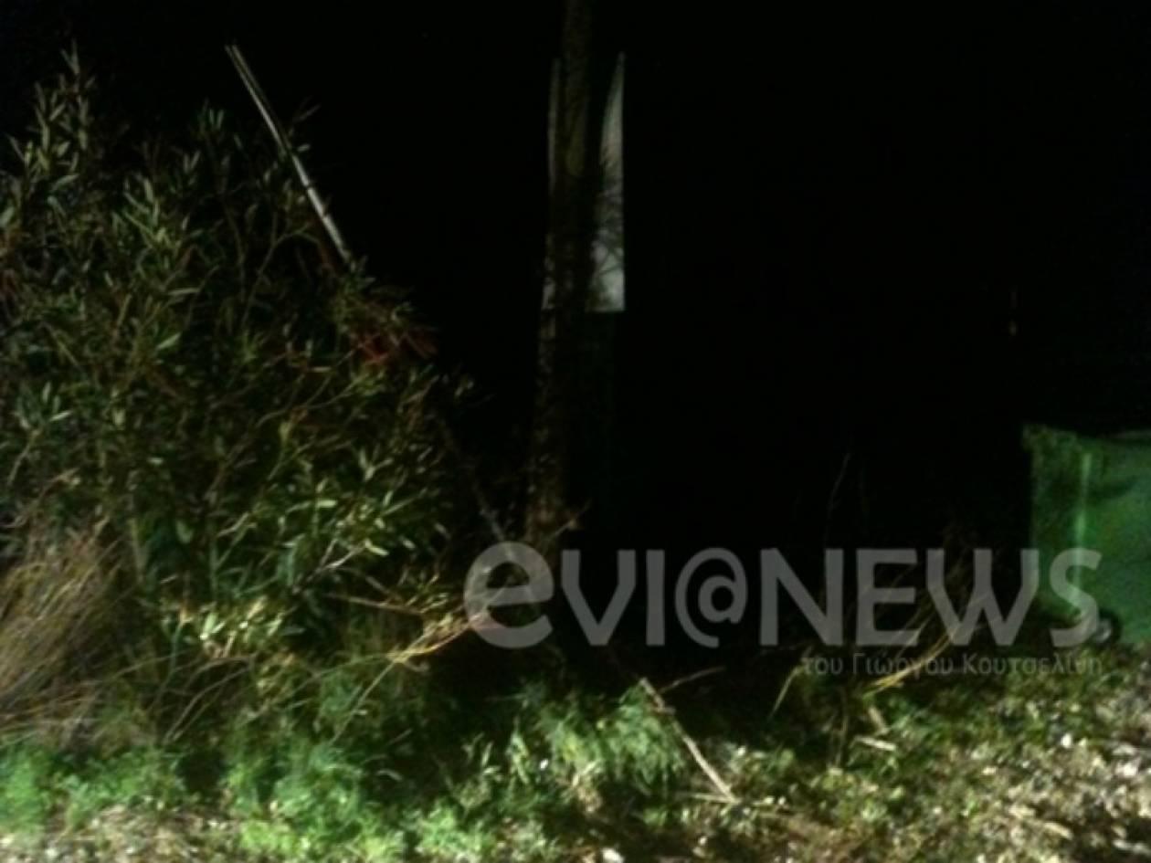 Θρήνος στην Εύβοια:  «Έσβησε» στην άσφαλτο ανήμερα των Χριστουγέννων