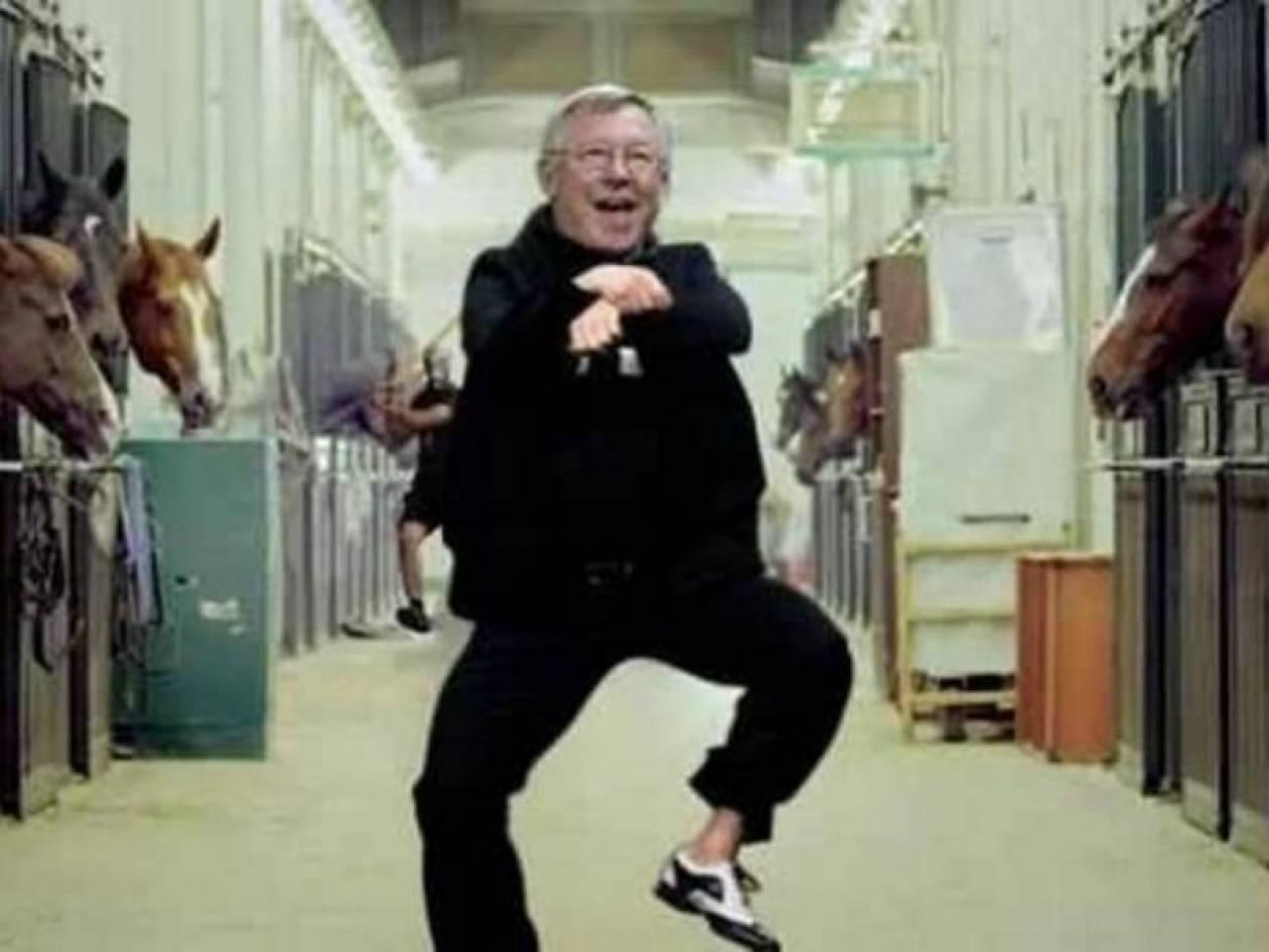 Μάντσεστερ Γιουνάιτεντ: Gangnam Style από τον… Φέργκιουσον! (video)