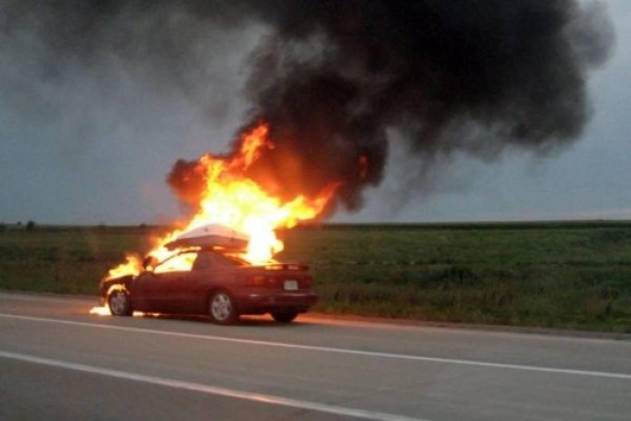 Συναγερμός στην Πυροσβεστική: Οι φλόγες «έγλειψαν» βενζινάδικο