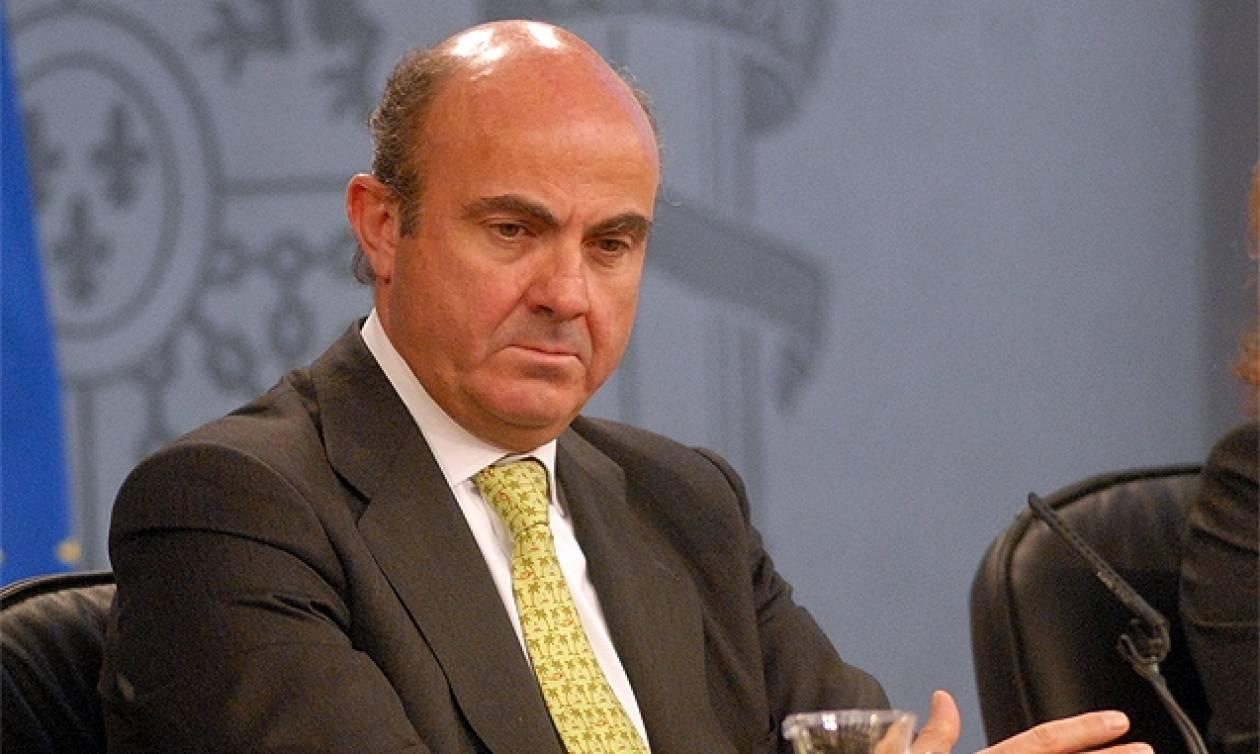 Ντε Γκίντος: Πιθανή η προσφυγή της Ισπανίας στο μηχανισμό της ΕΚΤ