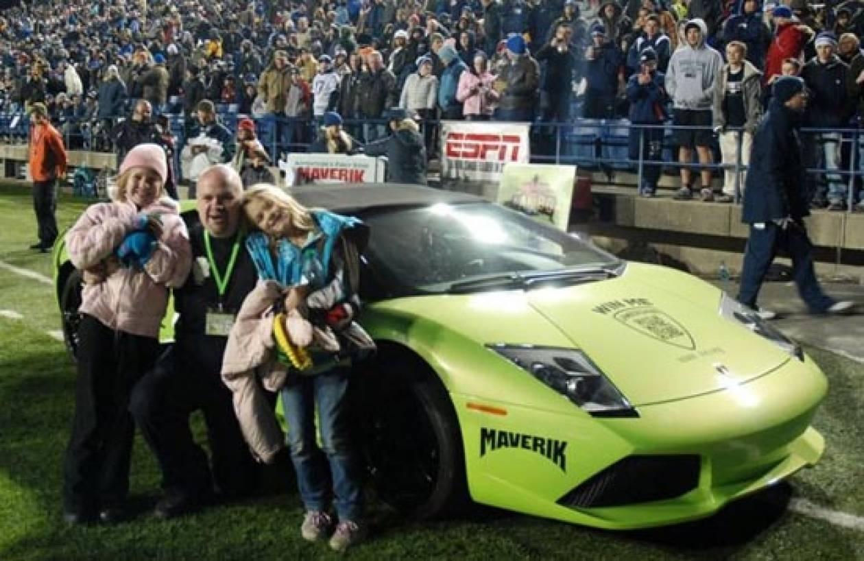 Κέρδισε την Lamborghini και 6 ώρες μετά την κατέστρεψε