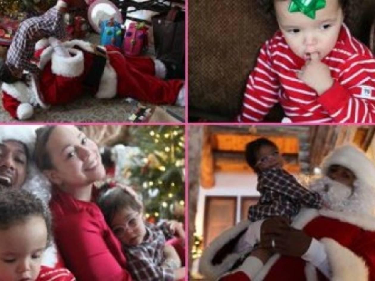 Χριστούγεννα με τη Mariah Carey, τον Nick Cannon και τα δίδυμα