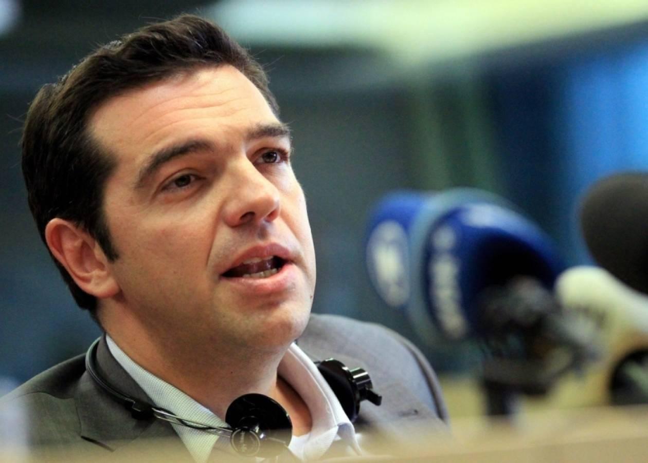 Τσίπρας: Ενίσχυση του αγώνα απέναντι στην κυριαρχία των αγορών