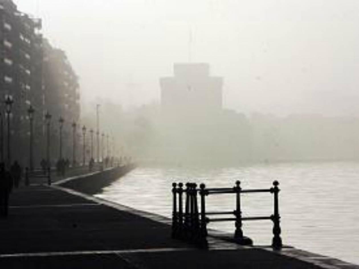 Προβλήματα από την ομίχλη στη Θεσσαλονίκη