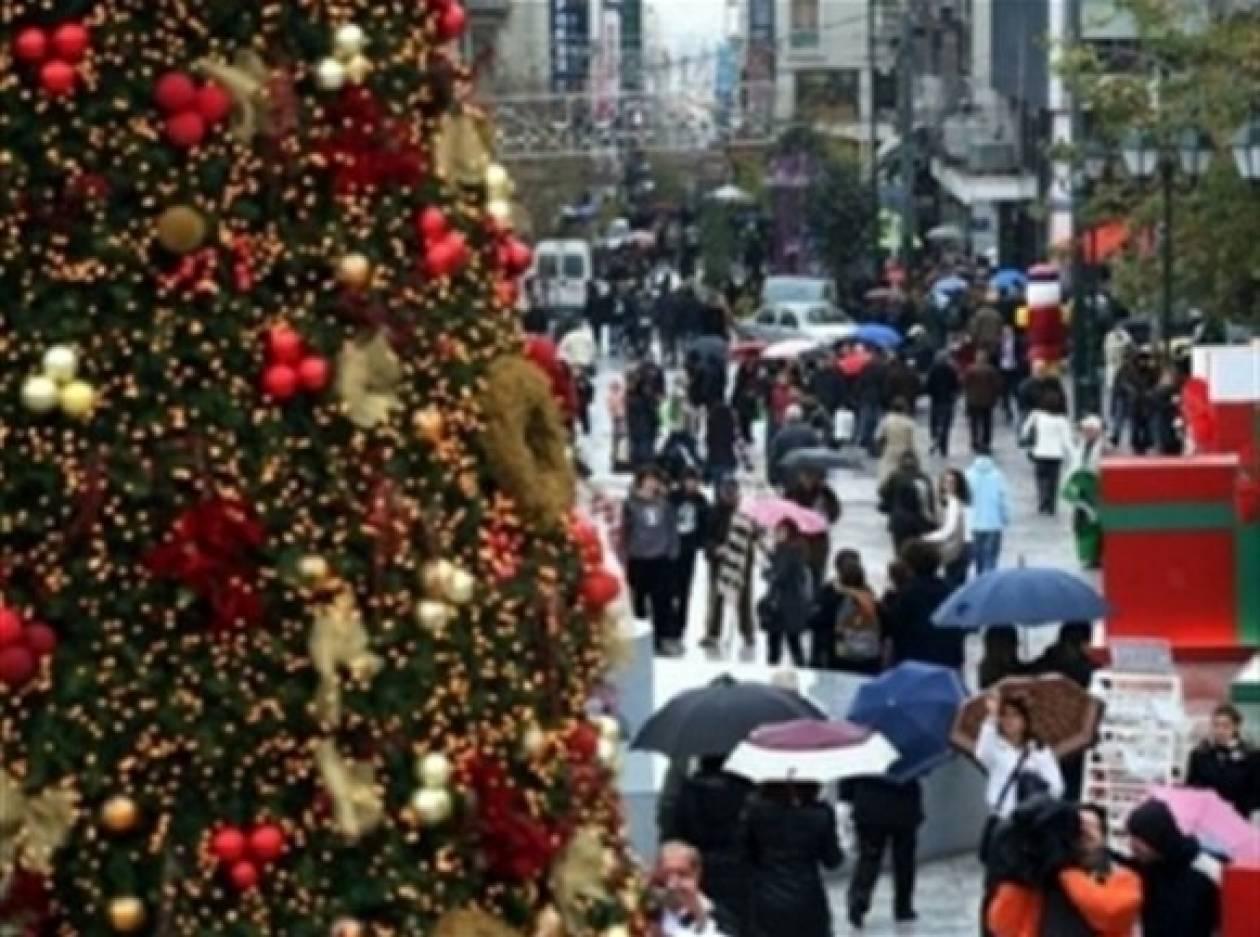 ΕΣΕΕ: Μειωμένος κατά 30% περίπου ο χριστουγεννιάτικος τζίρος