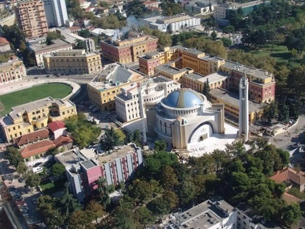 Ύμνος... Μπερίσα για το νέο Ορθόδοξο Καθεδρικό των Τιράνων