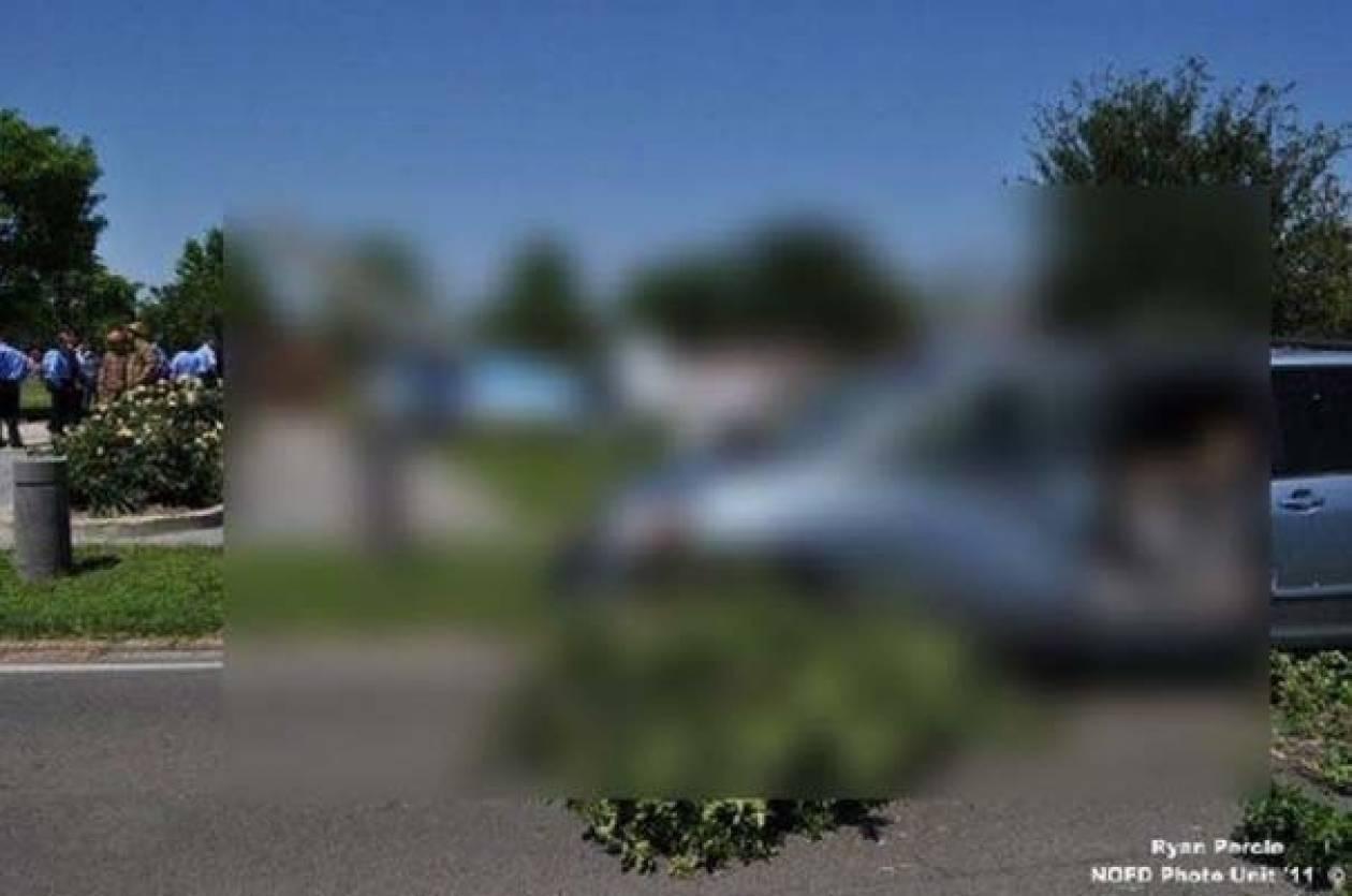 Ένα σπάνιο και περίεργο τροχαίο ατύχημα στη Νέα Ορλεάνη