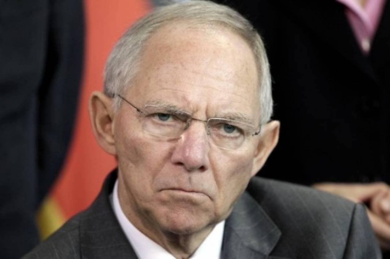 Σόιμπλε:Το χειρότερο της κρίσης της ευρωζώνης βρίσκεται πλέον πίσω μας