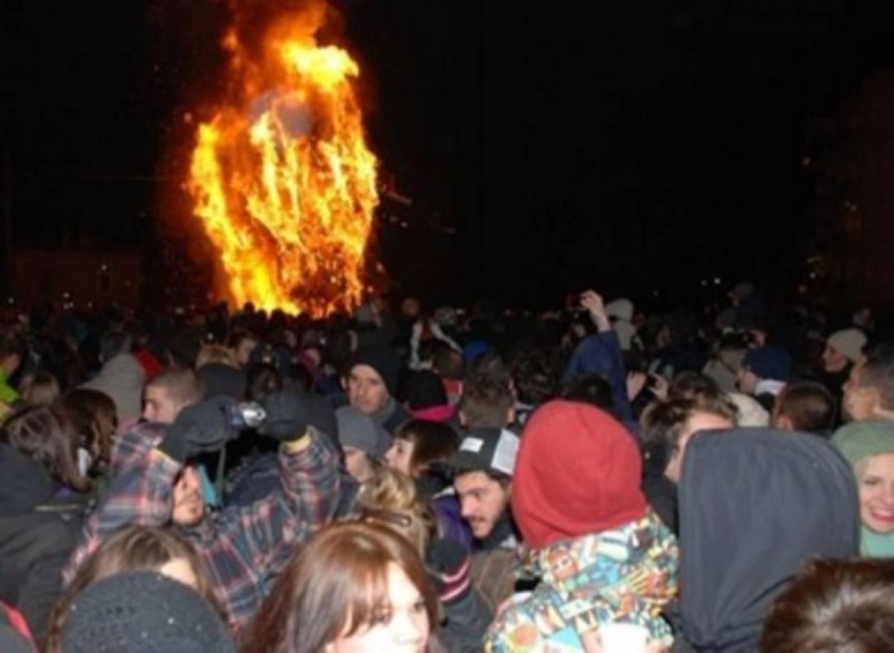 Αναβιώνει το «έθιμο των φωτιών» στη Φλώρινα