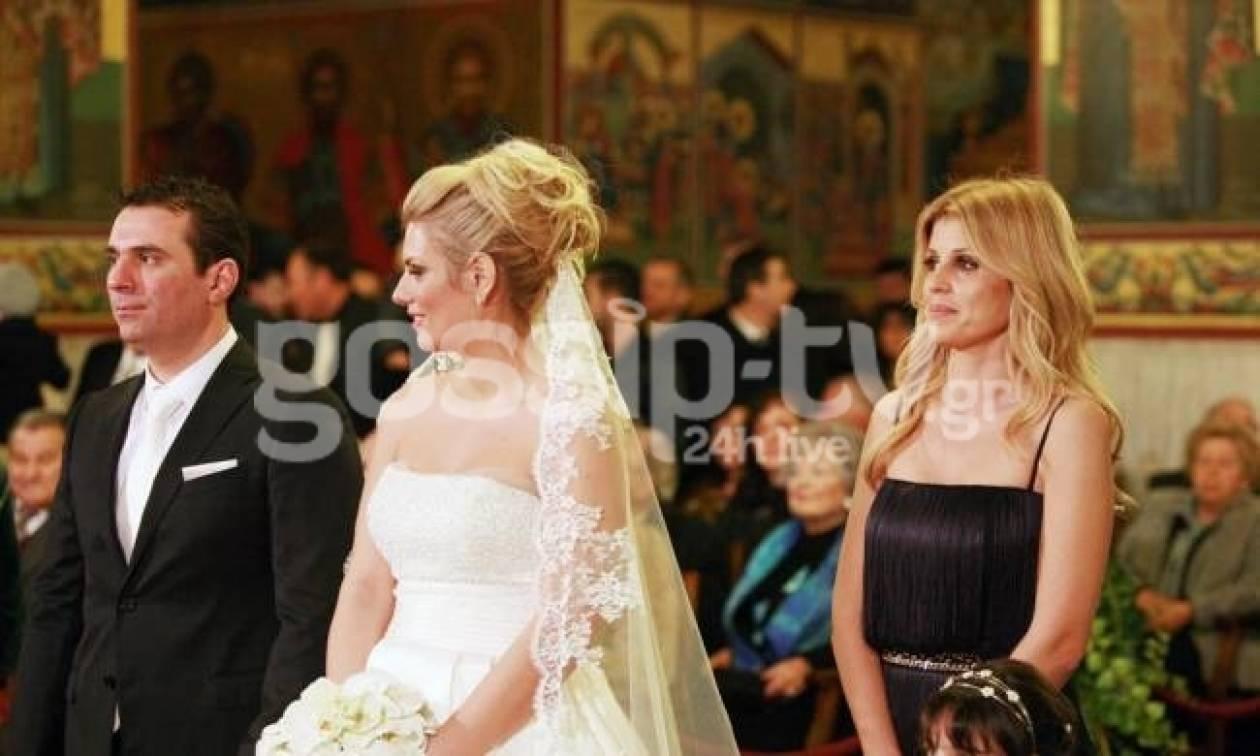 Έλενα Ράπτη: Έγινε κουμπάρα στο γάμο της κολλητής της!