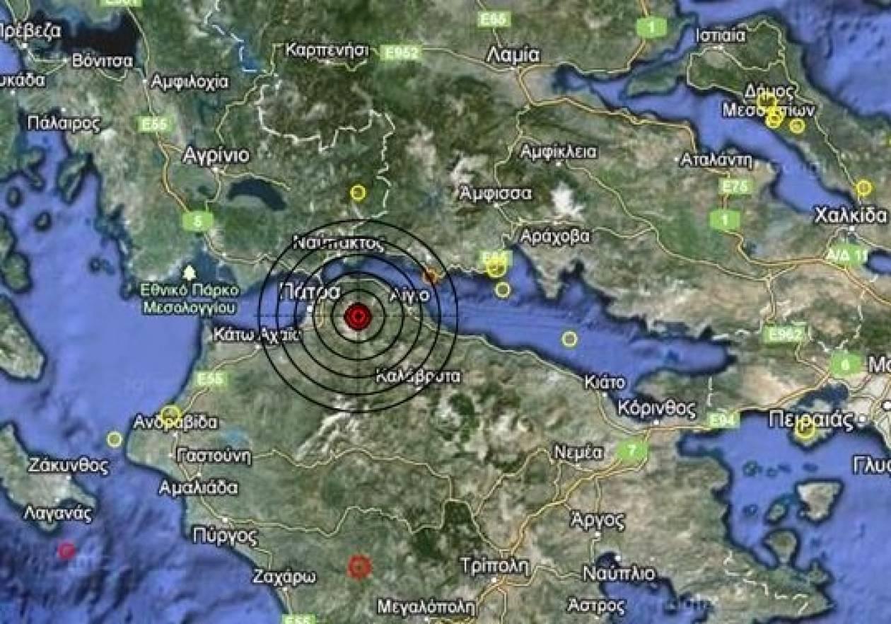 Σεισμός 4,0 Ρίχτερ στην Πάτρα