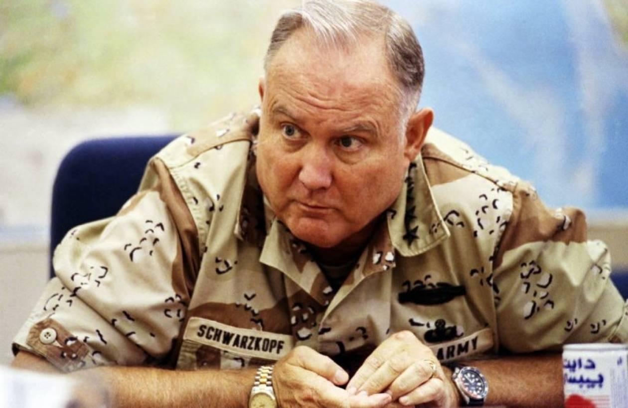 Πέθανε ο στρατηγός Νόρμαν Σβάρτσκοφ