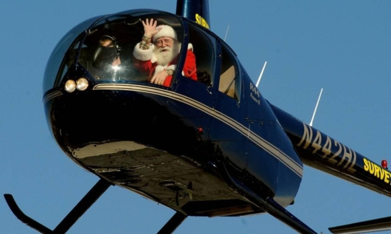 Ο Άγιος Βασίλης έρχεται με κάθε τρόπο στα μικρά παιδιά (part 2)!