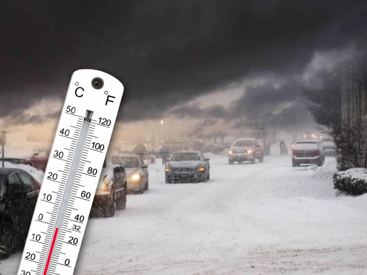 Επιδείνωση του καιρού – Τσουχτερό κρύο την Πρωτοχρονιά