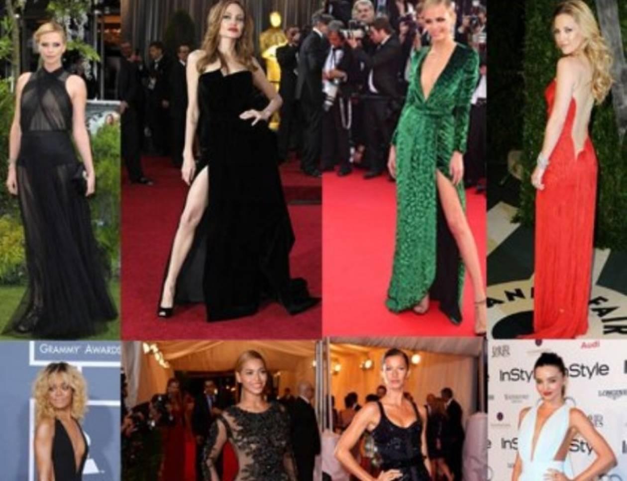 Αυτά είναι τα 8 πιο sexy red carpet φορέματα του 2012