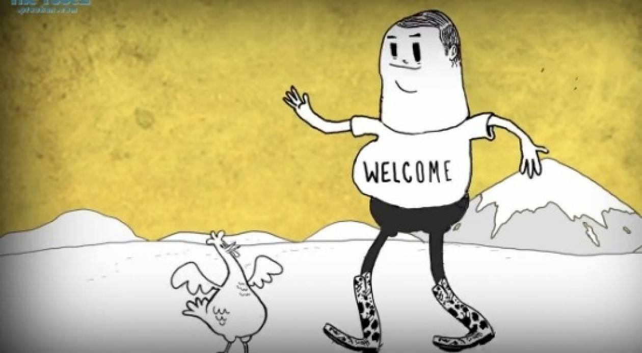 Και τότε ήρθε ο άνθρωπος: Ένα εκπληκτικό βιντεάκι animation!